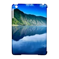 Mountain Water Landscape Nature Apple Ipad Mini Hardshell Case (compatible With Smart Cover)
