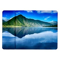 Mountain Water Landscape Nature Samsung Galaxy Tab 10 1  P7500 Flip Case