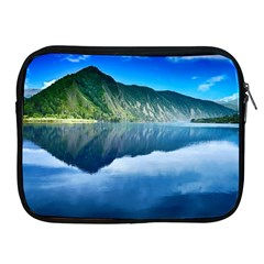 Mountain Water Landscape Nature Apple Ipad 2/3/4 Zipper Cases