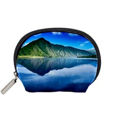 Mountain Water Landscape Nature Accessory Pouches (small)