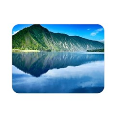 Mountain Water Landscape Nature Double Sided Flano Blanket (mini)
