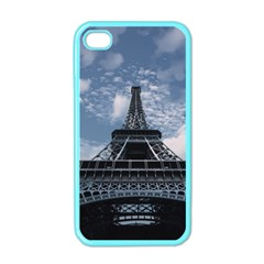 Eiffel Tower France Landmark Apple Iphone 4 Case (color)