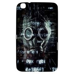 Gas Mask Contamination Contaminated Samsung Galaxy Tab 3 (8 ) T3100 Hardshell Case