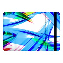 Lines Vibrations Wave Pattern Samsung Galaxy Tab Pro 10 1  Flip Case