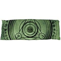 Rune Geometry Sacred Mystic Body Pillow Case (dakimakura)