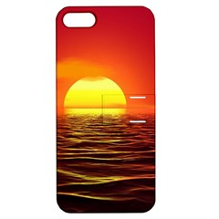 Sunset Ocean Nature Sea Landscape Apple Iphone 5 Hardshell Case With Stand