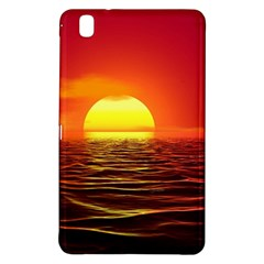 Sunset Ocean Nature Sea Landscape Samsung Galaxy Tab Pro 8 4 Hardshell Case