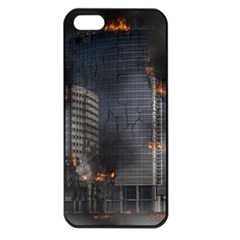 Destruction Apocalypse War Disaster Apple Iphone 5 Seamless Case (black)