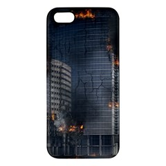 Destruction Apocalypse War Disaster Apple Iphone 5 Premium Hardshell Case