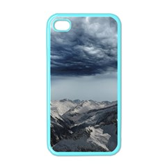 Mountain Landscape Sky Snow Apple Iphone 4 Case (color)