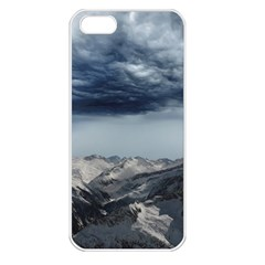 Mountain Landscape Sky Snow Apple Iphone 5 Seamless Case (white)