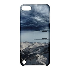 Mountain Landscape Sky Snow Apple Ipod Touch 5 Hardshell Case With Stand