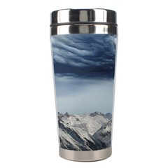 Mountain Landscape Sky Snow Stainless Steel Travel Tumblers