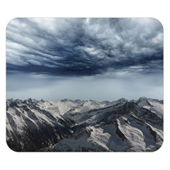 Mountain Landscape Sky Snow Double Sided Flano Blanket (small)