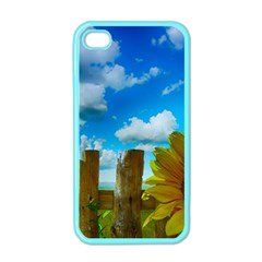 Sunflower Summer Sunny Nature Apple Iphone 4 Case (color)
