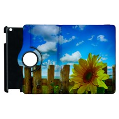 Sunflower Summer Sunny Nature Apple Ipad 2 Flip 360 Case