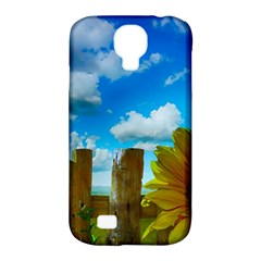 Sunflower Summer Sunny Nature Samsung Galaxy S4 Classic Hardshell Case (pc+silicone)