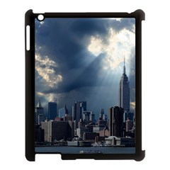 New York America New York Skyline Apple Ipad 3/4 Case (black)