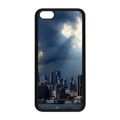 New York America New York Skyline Apple Iphone 5c Seamless Case (black)