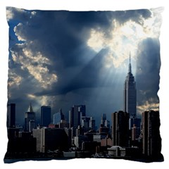 New York America New York Skyline Standard Flano Cushion Case (two Sides)