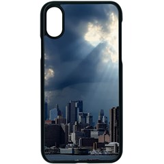 New York America New York Skyline Apple Iphone X Seamless Case (black)
