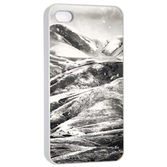 Mountains Winter Landscape Nature Apple Iphone 4/4s Seamless Case (white)