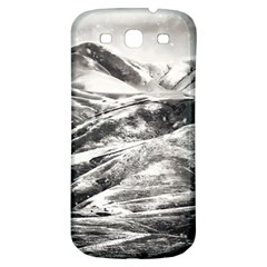 Mountains Winter Landscape Nature Samsung Galaxy S3 S Iii Classic Hardshell Back Case