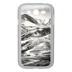 Mountains Winter Landscape Nature Samsung Galaxy Grand Duos I9082 Case (white)