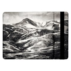 Mountains Winter Landscape Nature Samsung Galaxy Tab Pro 12 2  Flip Case
