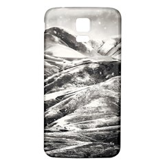 Mountains Winter Landscape Nature Samsung Galaxy S5 Back Case (white)