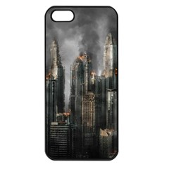 Armageddon Disaster Destruction War Apple Iphone 5 Seamless Case (black)