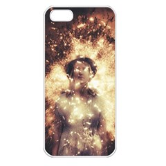 Science Fiction Teleportation Apple Iphone 5 Seamless Case (white)