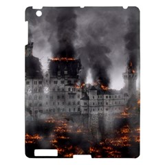 Destruction War Conflict Explosive Apple Ipad 3/4 Hardshell Case