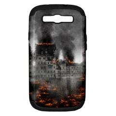 Destruction War Conflict Explosive Samsung Galaxy S Iii Hardshell Case (pc+silicone)