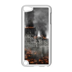 Destruction War Conflict Explosive Apple Ipod Touch 5 Case (white)