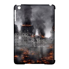 Destruction War Conflict Explosive Apple Ipad Mini Hardshell Case (compatible With Smart Cover)