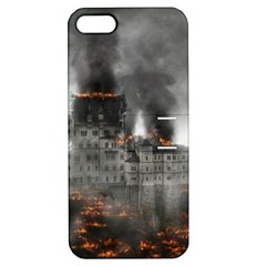 Destruction War Conflict Explosive Apple Iphone 5 Hardshell Case With Stand