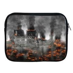 Destruction War Conflict Explosive Apple Ipad 2/3/4 Zipper Cases