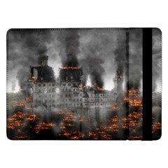 Destruction War Conflict Explosive Samsung Galaxy Tab Pro 12 2  Flip Case