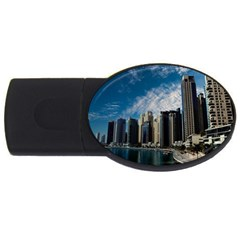 Skyscraper City Architecture Urban Usb Flash Drive Oval (4 Gb)