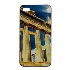 Athens Greece Ancient Architecture Apple Iphone 4/4s Seamless Case (black)