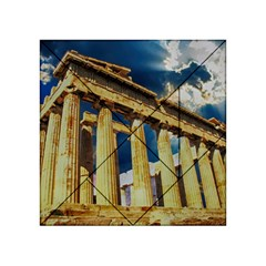 Athens Greece Ancient Architecture Acrylic Tangram Puzzle (4  X 4 )