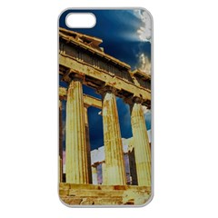 Athens Greece Ancient Architecture Apple Seamless Iphone 5 Case (clear)