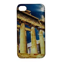 Athens Greece Ancient Architecture Apple Iphone 4/4s Hardshell Case With Stand