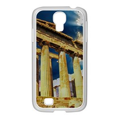 Athens Greece Ancient Architecture Samsung Galaxy S4 I9500/ I9505 Case (white)
