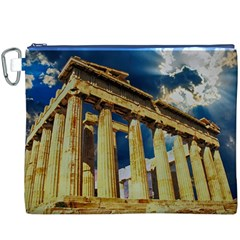 Athens Greece Ancient Architecture Canvas Cosmetic Bag (xxxl)