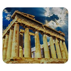 Athens Greece Ancient Architecture Double Sided Flano Blanket (small)