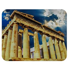 Athens Greece Ancient Architecture Double Sided Flano Blanket (medium)
