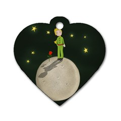 The Little Prince Dog Tag Heart (one Side)