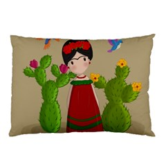 Frida Kahlo Doll Pillow Case (two Sides)
